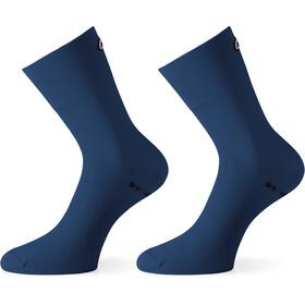 assos GT Socks caleum blue